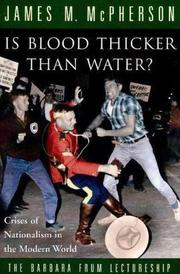 Cover of: Is blood thicker than water?