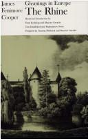 Cover of: Gleanings in Europe, the Rhine | James Fenimore Cooper