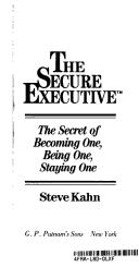 Cover of: Secure Executive