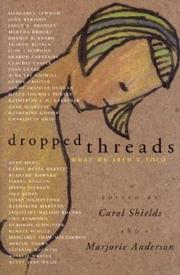 Cover of: Dropped Threads