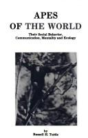 Cover of: Apes of the world