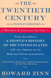 Cover of: The twentieth century, a people's history