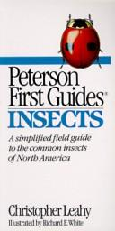 Cover of: Peterson first guide to insects of North America