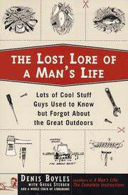 Cover of: The Lost Lore of a Man's Life