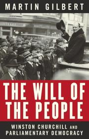 Cover of: The Will of the People: Churchill and Parliamentary Democracy