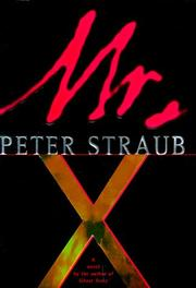 Cover of: Mister X: a novel