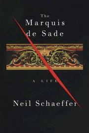 Cover of: The Marquis de Sade | Neil Schaeffer