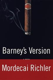 Cover of: Barney's Version