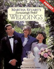 Cover of: Martha Stuart's excruciatingly perfect weddings