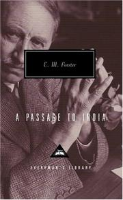 Cover of: A Passage to India | E. M. Forster