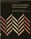 Cover of: Centre and periphery in the ancient world