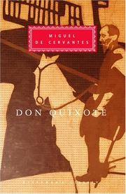 Cover of: Don Quixote | Miguel de Unamuno