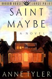 Cover of: Saint Maybe | Anne Tyler