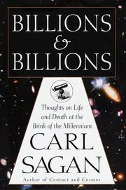 Cover of: Billions and billions: Thoughts on Life and Death at the Brink of the Millennium