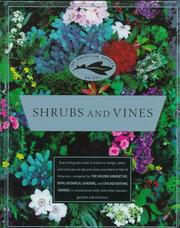Cover of: Shrubs and vines |