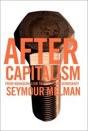 Cover of: After Capitalism