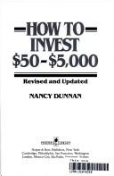 Cover of: How to invest $50-$5,000