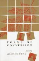 Cover of: Forms of Conversion: Poems