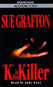 Cover of: K is for Killer (Sue Grafton)