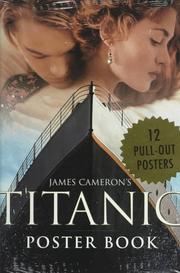 Cover of: James Cameron's Titanic Poster Book