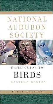 Cover of: National Audubon Society Field Guide to North American Birds