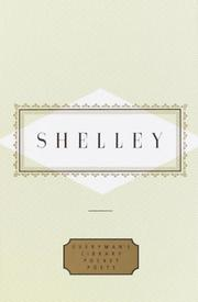 Cover of: Shelley by Percy Bysshe Shelley