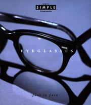 Cover of: Eyeglasses (Chic Simple): Face to Face (Chic Simple Component Series)