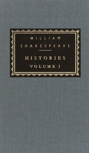 Cover of: Histories | William Shakespeare