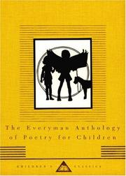 Cover of: The Everyman anthology of poetry for children