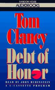Cover of: Debt of Honor (Tom Clancy) |