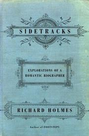 Cover of: Sidetracks | Holmes, Richard