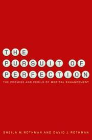 Cover of: The Pursuit of Perfection | Sheila Rothman