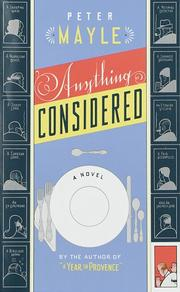 Cover of: Anything considered: A Novel