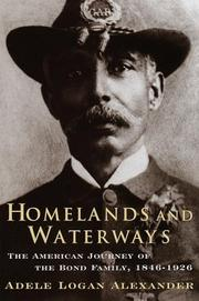 Cover of: Homelands and Waterways