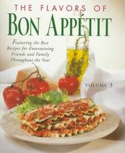 Cover of: The Flavors of Bon Appetit