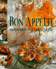 Cover of: Bon Appetit Entertaining with Style