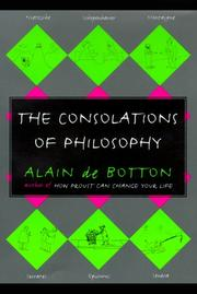 Cover of: The consolations of philosophy