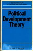Political development theory by Richard A. Higgott