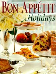 Cover of: Bon Appetit Holidays