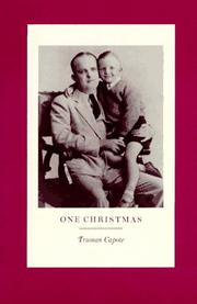 Cover of: One Christmas