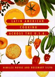 Latin American cooking across the U.S.A by Novas, Himilce.
