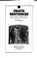 Cover of: Death sentences