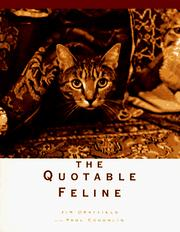 Cover of: The quotable feline |