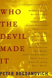 Cover of: Who the Devil Made It