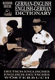 Cover of: German-English English-German Dictionary