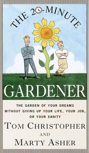 Cover of: The 20-Minute Gardener
