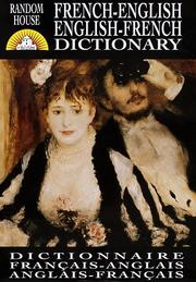 Cover of: Random House French-English English-French Dictionary