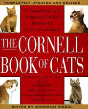 Cover of: The Cornell book of cats |