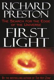 Cover of: First light | Preston, Richard