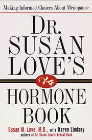 Cover of: Dr. Susan Love's hormone book